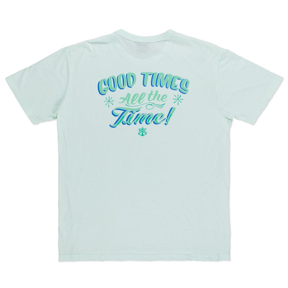 Dark Seas Goodtime Tuki Old Time T Shirt Green At Skate Pharm