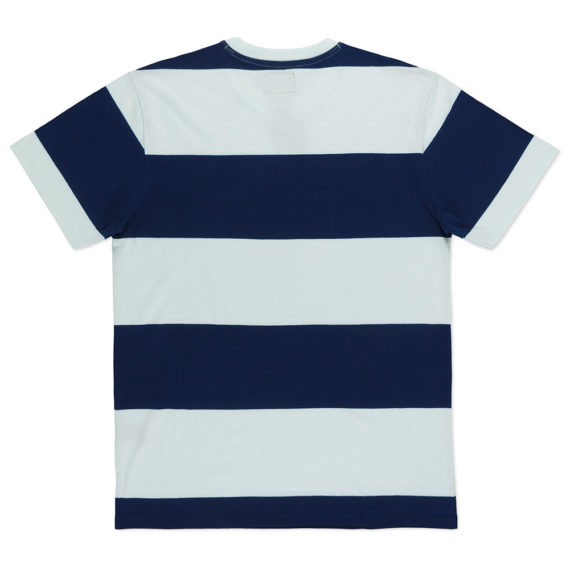 Dark Seas Clothing Lurline Knit T-Shirt White Navy