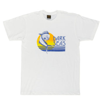 Dark Seas Clothing Travels T-Shirt White