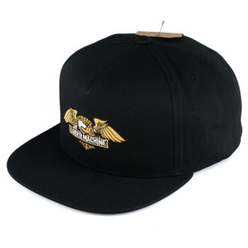 Loser Machine Wings Snapback Hat Black