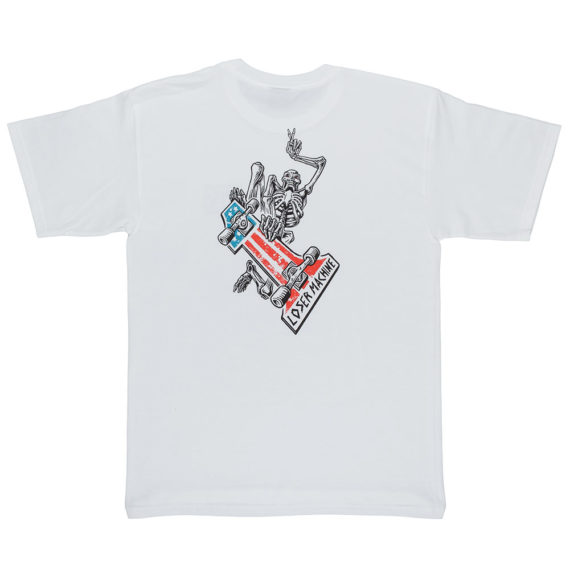 Loser Machine One Up T-Shirt White