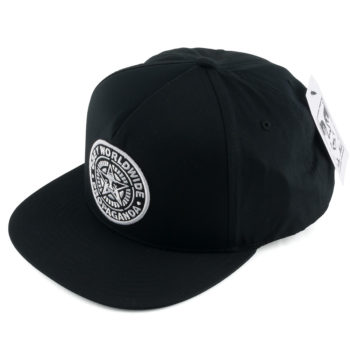 Obey Classic Patch Snapback Hat Black