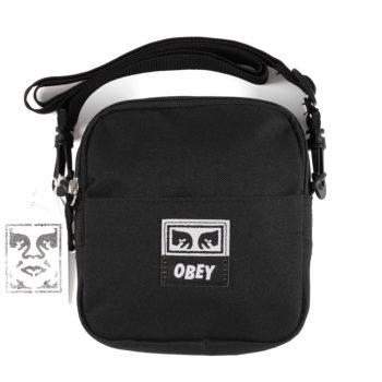 Obey Dropout Traveller Bag Black