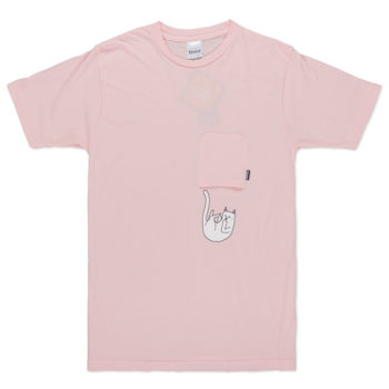 Rip'N'Dip Falling For Nermal Pocket T-Shirt Pink