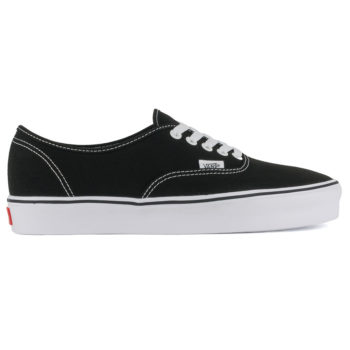 Vans Canvas Authentic Lite Shoes Black White