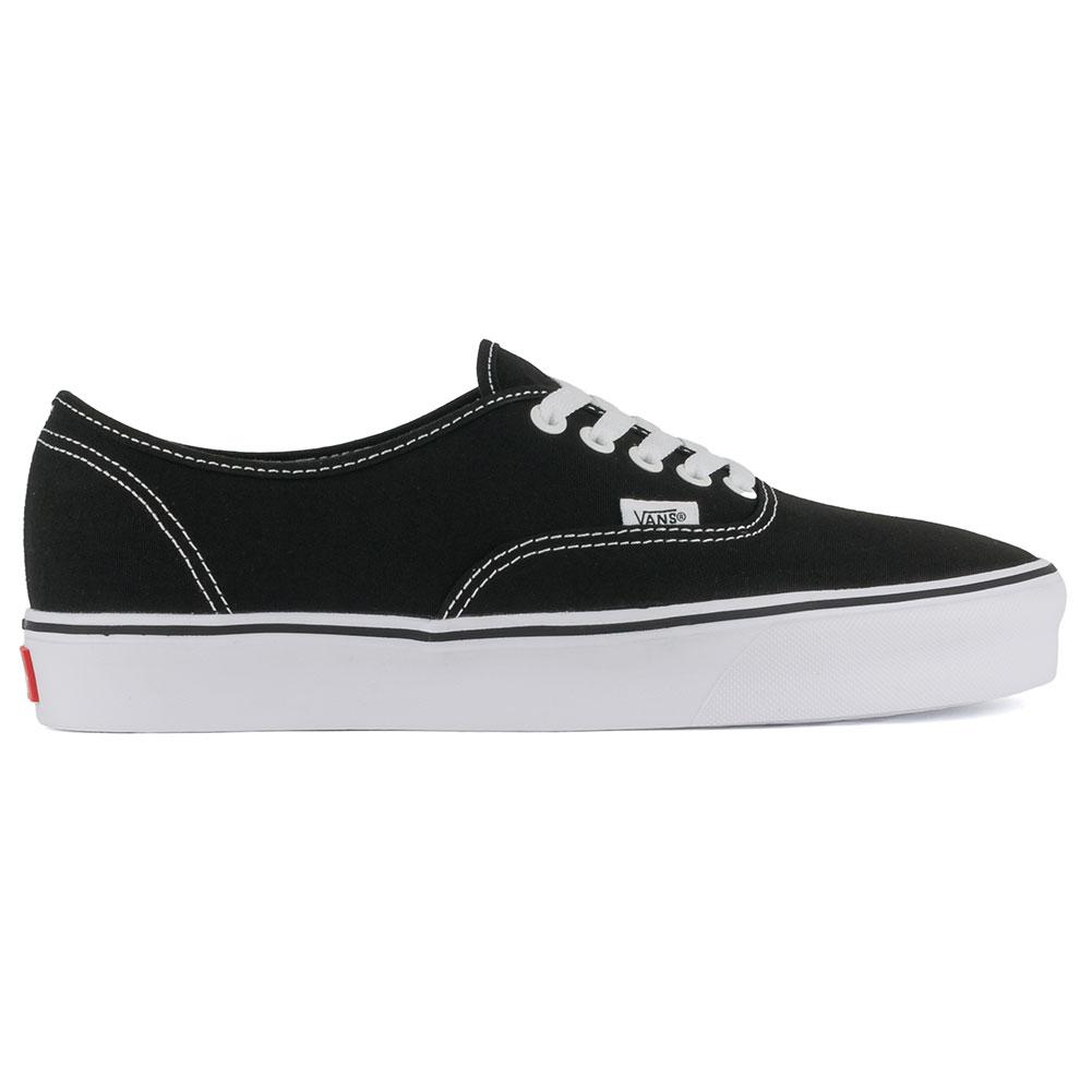 1887fa76c54ed1 Buy Vans Canvas Authentic Lite Shoes Black White at Skate Pharm