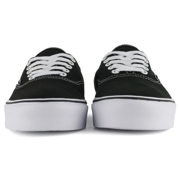 Vans Canvas Authentic Lite Shoes Black White