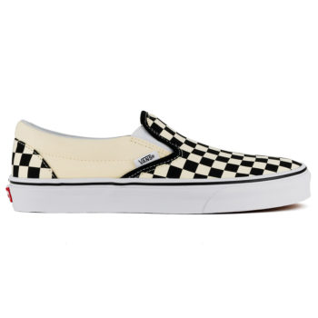Vans Checkerboard Slip On Shoe White Black