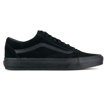 Vans Old Skool Suede Shoes Black Black