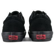 Vans Old Skool Suede Shoes Black Black