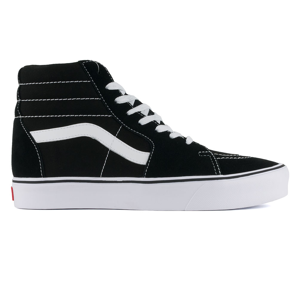 959b0f41b9 Vans Sk8-Hi Lite Shoes Black White available at Skate Pharm Margate