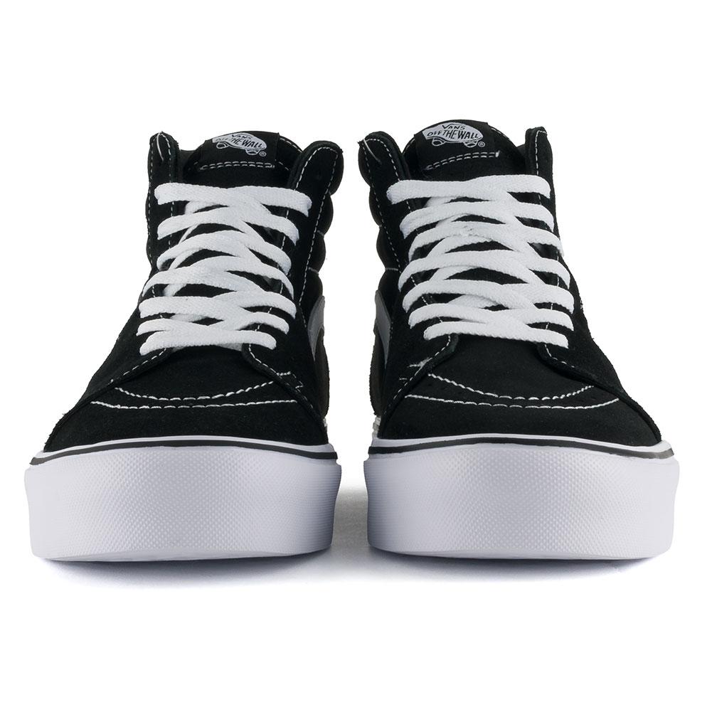 1140afb399a3ae Vans Sk8-Hi Lite Shoes Black White available at Skate Pharm Margate