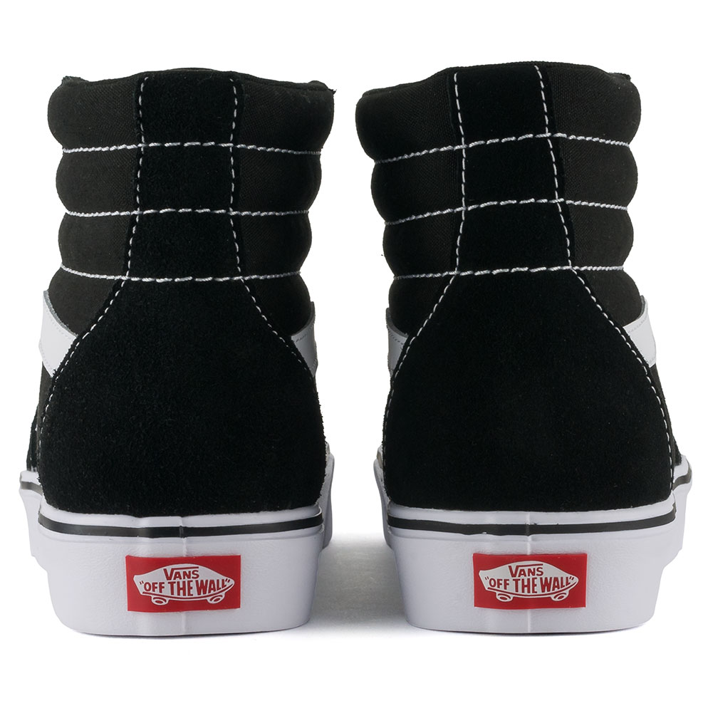 Vans Sk8-Hi Lite Shoes Black White available at Skate Pharm Margate 0feea0d3b
