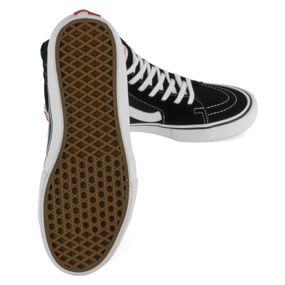 Vans Sk8-Hi Pro Shoes Black White