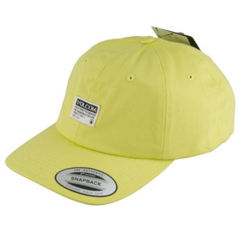 Volcom Clothing Case Dad Hat Yellow