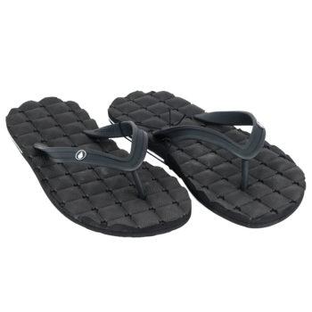Volcom Recliner Rubber 2 Flip Flops Black