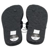 Volcom Rocker 2 Solid Flip Flops Black