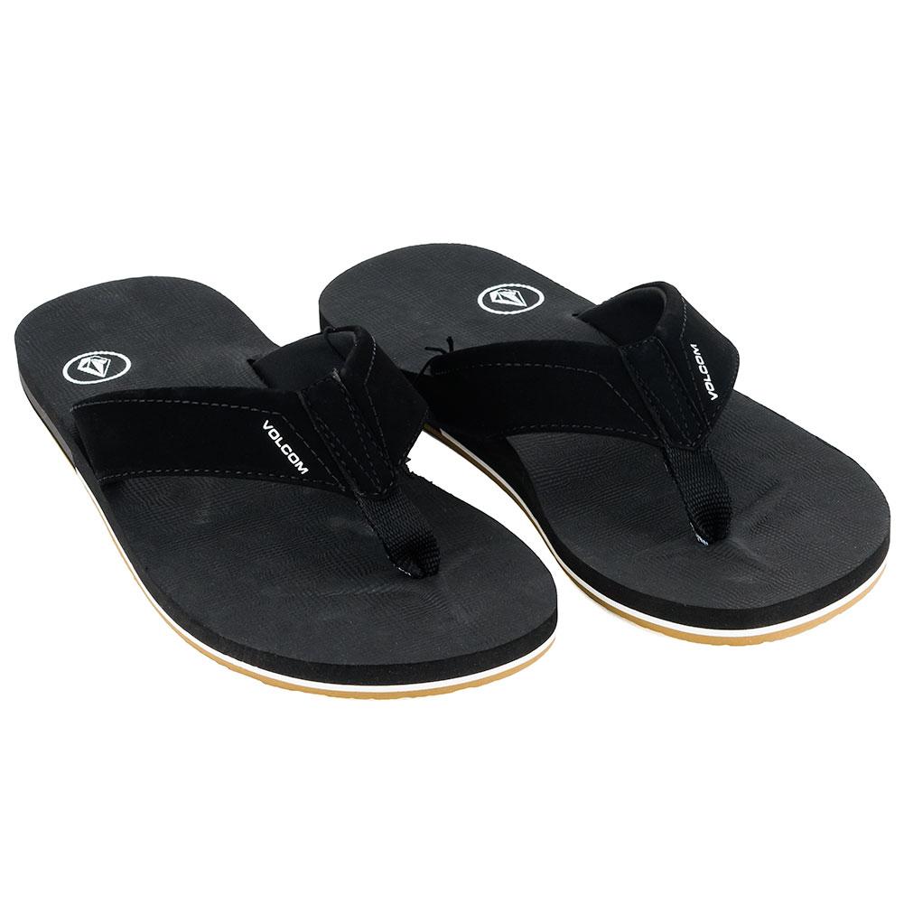 6f853e0c1eb6 Home   Shop   Footwear   Flip Flops   Volcom Victor Sandals Flip Flops Black