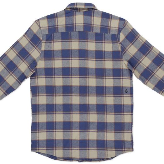 Volcom Caden Long Sleeve Shirt Blue