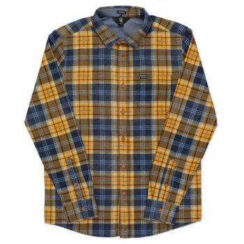 Volcom Hayden Long Sleeve Shirt Yellow