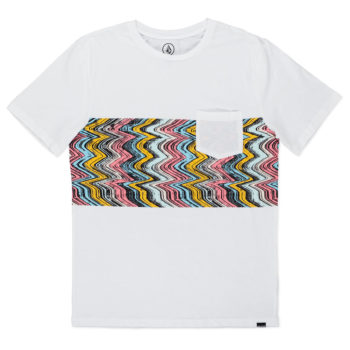 Volcom LoFi HTH Pocket T-Shirt White
