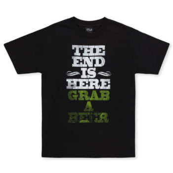 Creature Skateboards The End T-Shirt Black