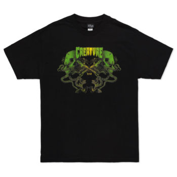 Creature Skateboards Knives T-Shirt Black