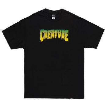 Creature Skateboards Logo T-Shirt Black