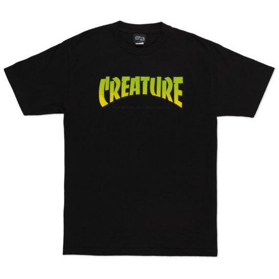 Creature Skateboards Pure Evil T-Shirt Black
