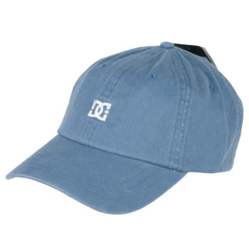 D.C Shoes Uncle Fred Dad Hat Blue Mirage