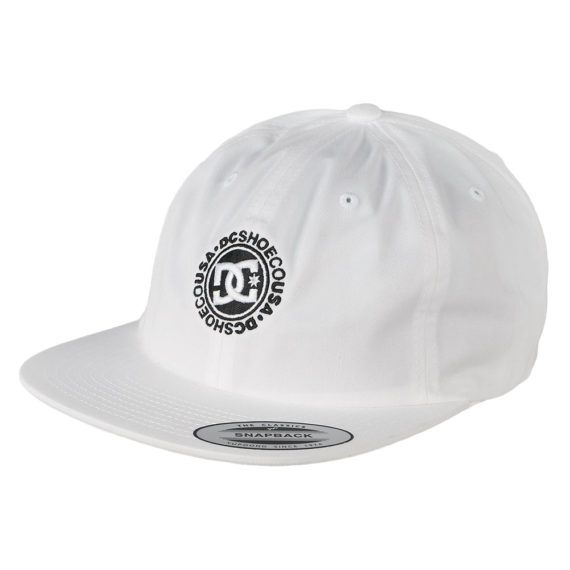 D.C Shoes Core Twill Dad Hat White