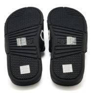 D.C. Bolsa SP Slider Sandals Black White