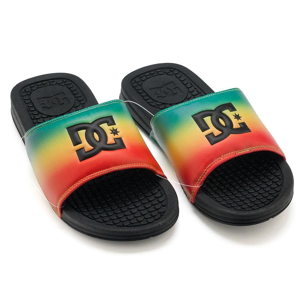 Home   Shop   Footwear   Flip Flops   D.C. Bolsa SP Slider Sandals Rasta 7a625f477b7