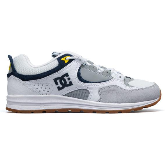 D.C. Shoes Kalis Lite White Grey Yellow