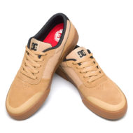 D.C. Shoes Switch Plus S Shoes Brown Gum
