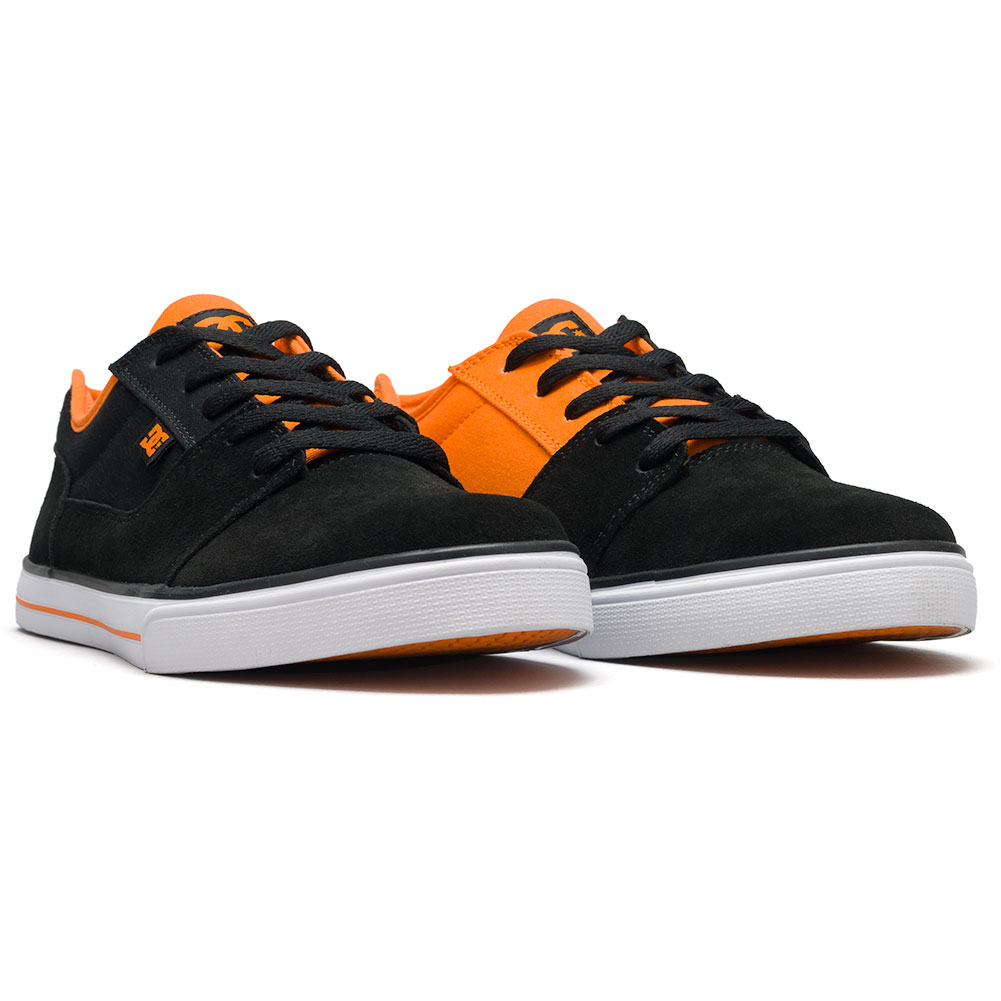 ee7b1e43713 D.C. Shoes Tonik Youth Shoes Black Orange Available at Skate Pharm