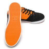 D.C. Shoes Tonik Youth Shoes Black Orange