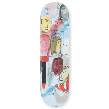 Polar Skateboards Nick Boserio Multi Personality Deck 8.6""