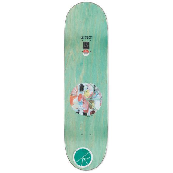 Polar Skateboards Nick Boserio Multi Personality Deck 8.6″