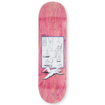 Polar Skateboards Aaron Herrington Evole Love Deck 8.75""
