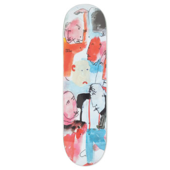 Polar Skateboards Paul Grund Multi Personality Deck 8.5""