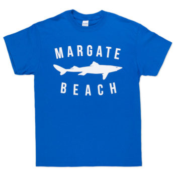 unofficial margate dogfish logo royal blue