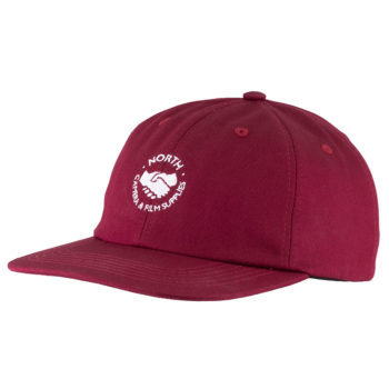 North Mag Supplies Logo Cap Burgundy