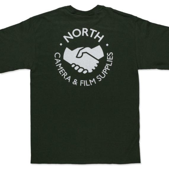 North Magazine Supplies Logo Long Sleeve T-Shirt Green