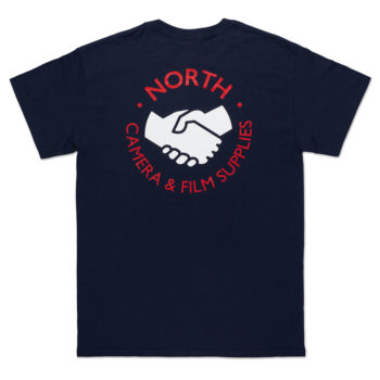 North Magazine Supplies Logo T-Shirt Navy