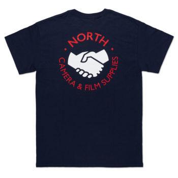 North Magazine Supplies Logo T-Shirt Navy
