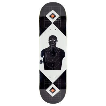 "Quasi Skateboards Perp Deck 8.375"" Black"