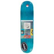 Quasi Skateboards Al Davis Bars Deck 8.25″ White