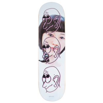 "Quasi Skateboards Girl Deck 8.5"" Pink"