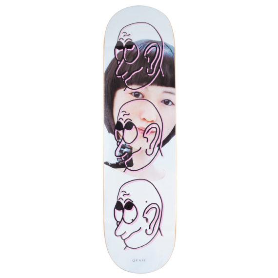 Quasi Skateboards Girl Deck 8.5″ Pink